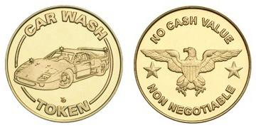 Car Wash/Eagle/Non Neg.stock token