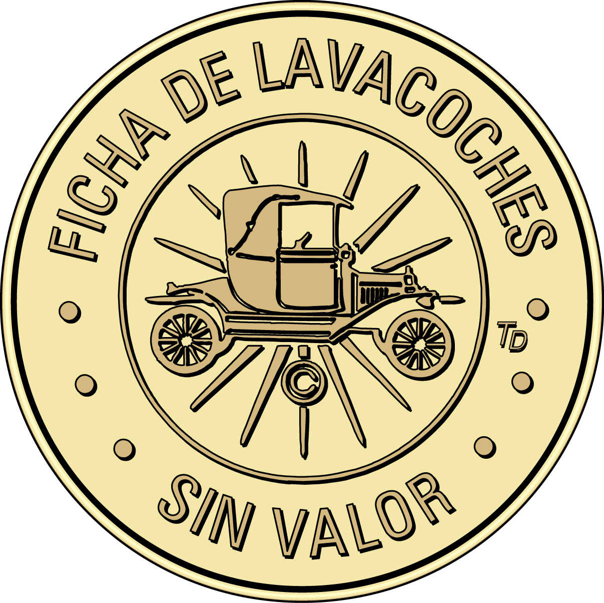 Ficha de Lavacoches Tokens