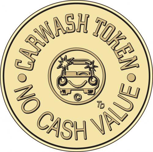 car wash token no cash value tokensdirect. Black Bedroom Furniture Sets. Home Design Ideas