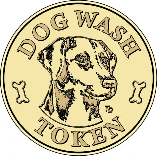 Dog Wash Grooming Token