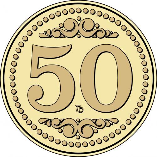 Number 50 Token