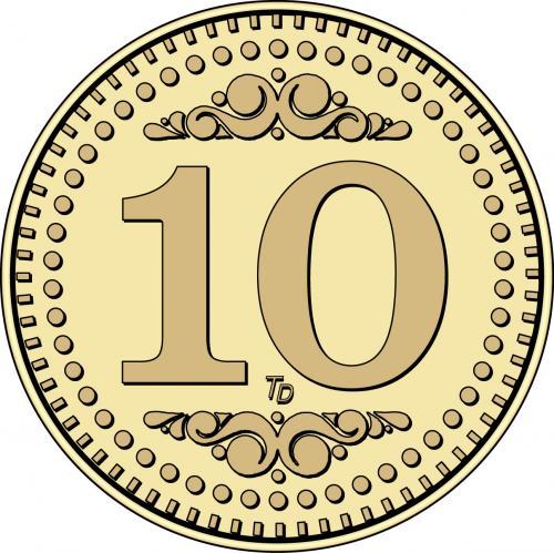 Number 10 Token