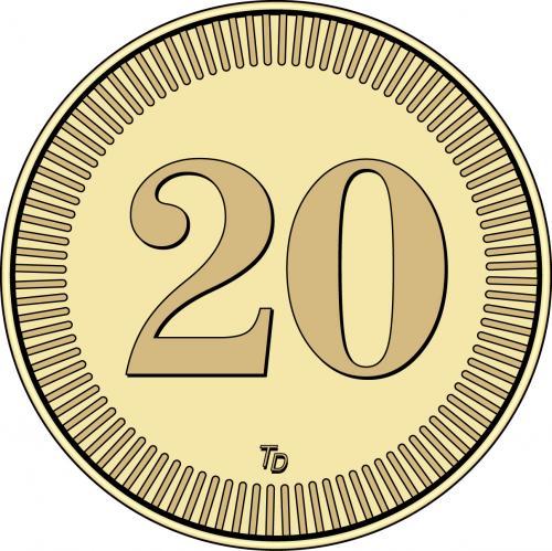 Number 20 Token
