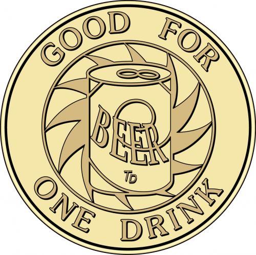 Drink Wine Beer Token