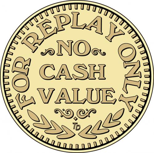 For Replay Only No Cash Value
