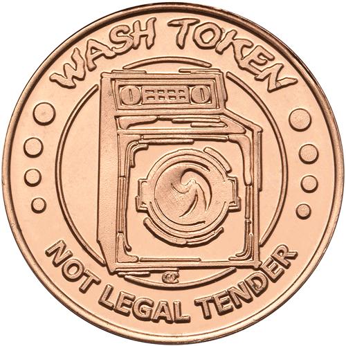 Wash Token Not Legal Tender