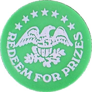 (Green Plastic Token)