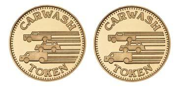 "Red Brass 0.984"" 3 Vehicles/3 Vehicles stock token"