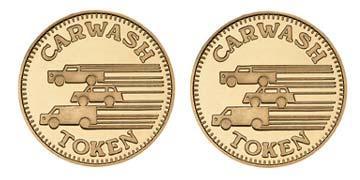 "Red Brass 0.984"" 3 Vehicles/3 Vehicles stock token"