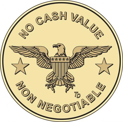 Eagle No Cash Value/Non Negotiable