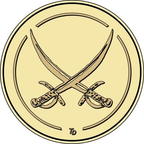 Crossed Swords Custom Token