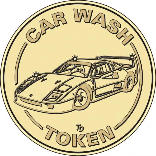 Car Wash Token Vacuum Token