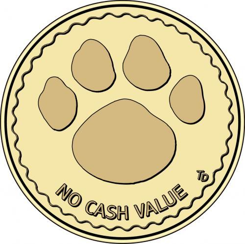 Dog Wash Grooming Token