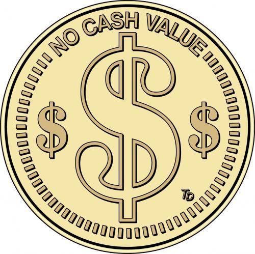 NCV No Cash Value Token