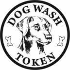 dog wash token