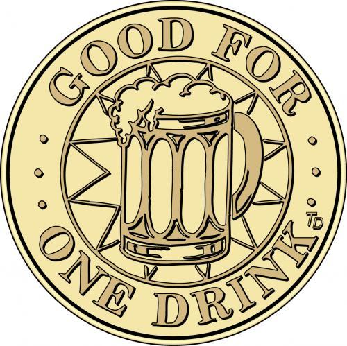 Drink Wine Beer Token