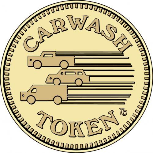 3 Vehicles Car Wash Token