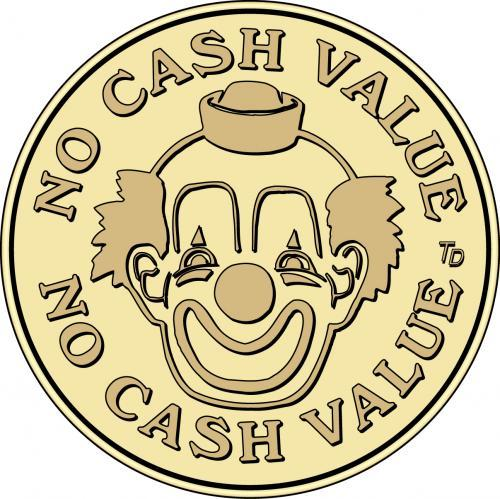 No Cash Value Clown