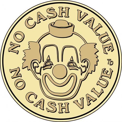 No Cash Value Clown