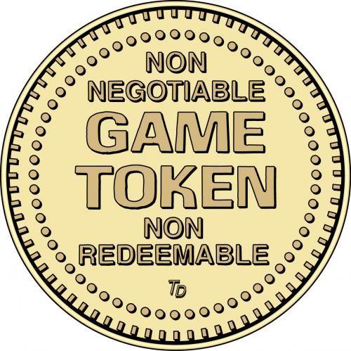 Non Negotiable Game Token Non Redeemable
