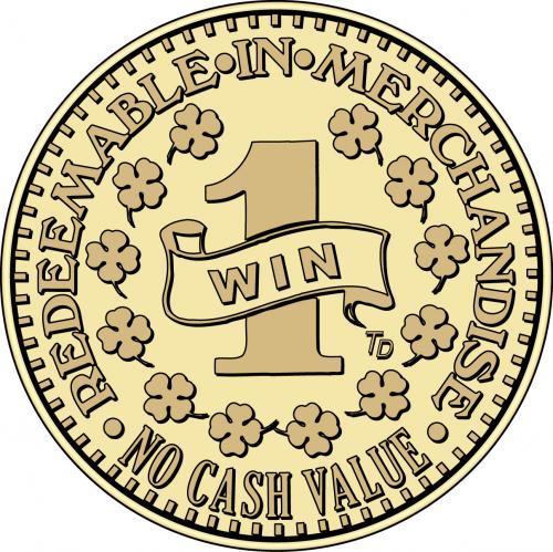 Win 1 Redeemable in Merchandise No Cash Value