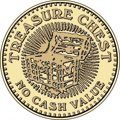 Treasure Chest No Cash Value