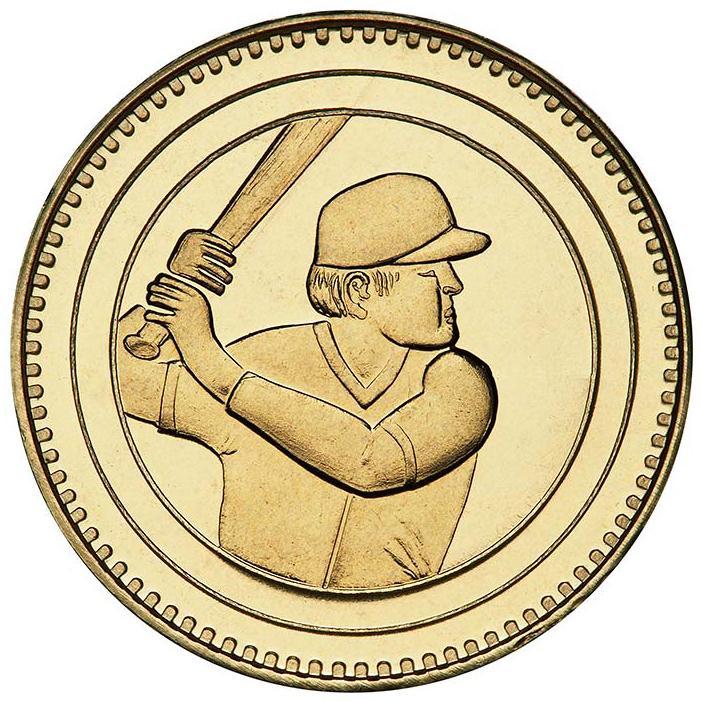Baseball Batter - right profile