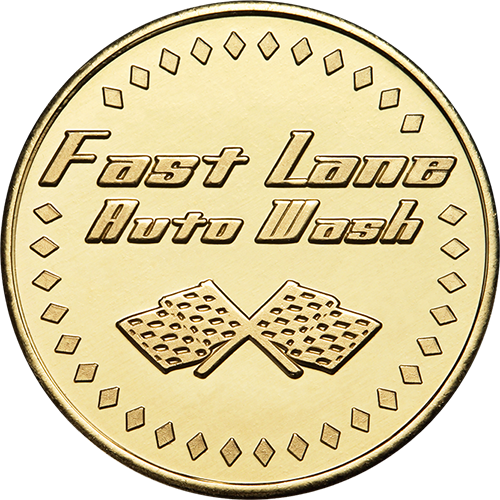 Fast Lane Auto Wash Token