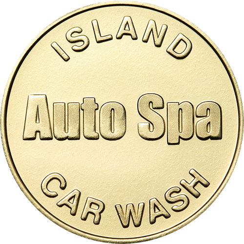 Car Wash Token No Cash Value