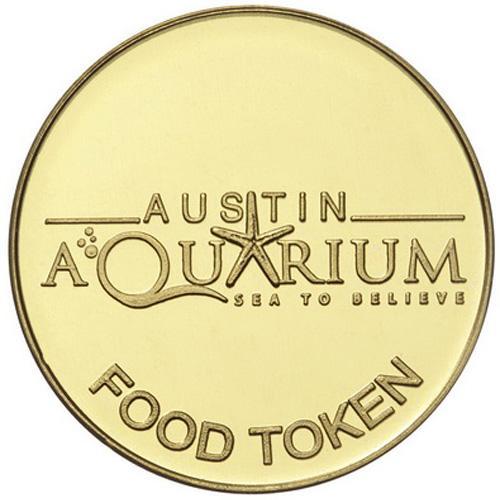Austin Aquarium Animal Food Token