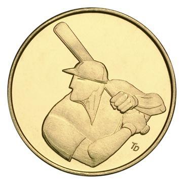 Baseball Batter - left profile