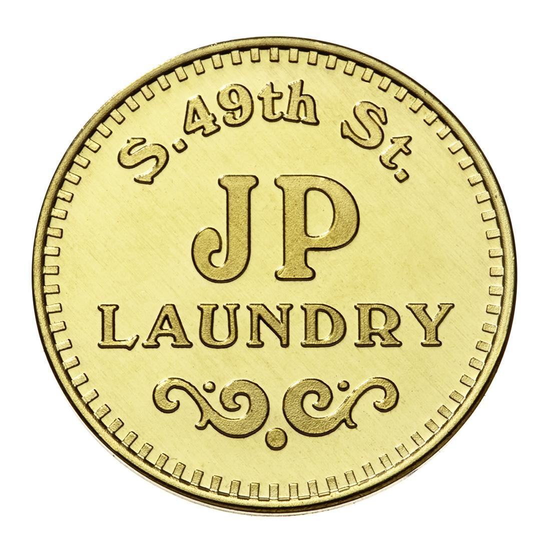 Custom laundry token