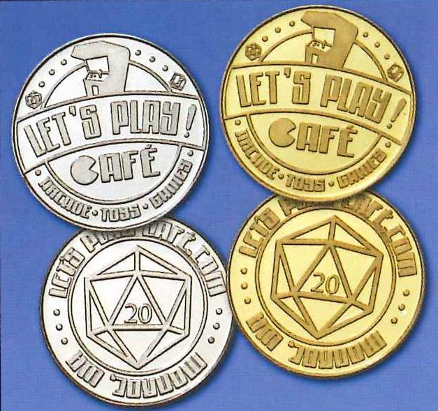 Let's Play Cafe Tokens