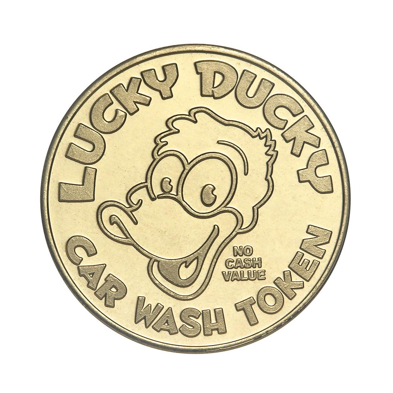 Car Wash token lucky duck