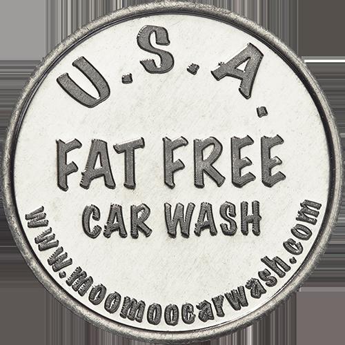 USA Fat Free Car Wash Token