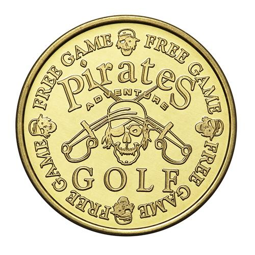 Custom Brass Golf Token