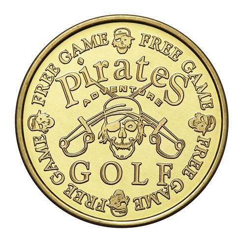 Custom Brass Golf Token