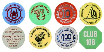 Plastic Tokens photo