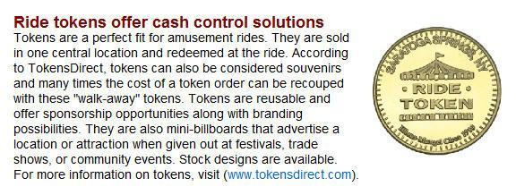 Ride Tokens E-News