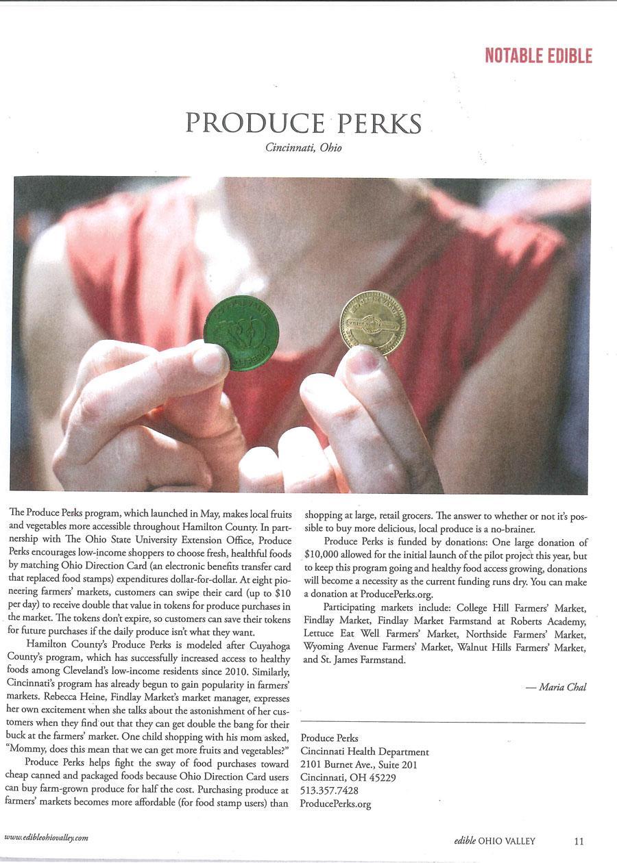 Produce Perks SNAP tokens