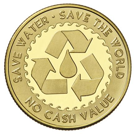 Save Water stock token design