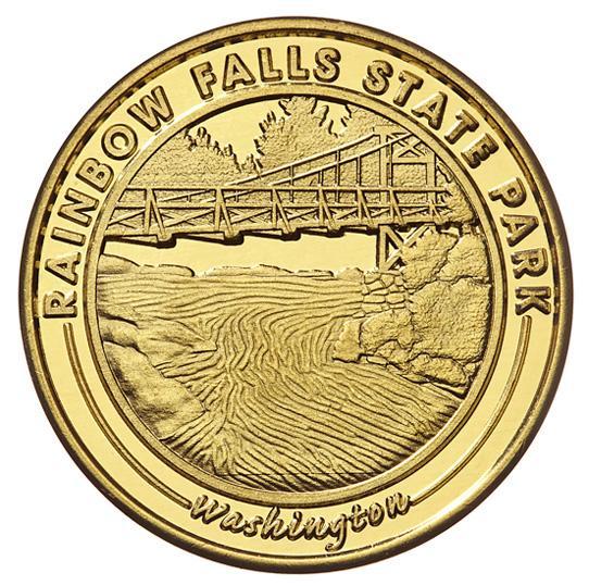Washington state parks token