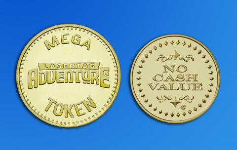 Custom Brass Mega Tokens