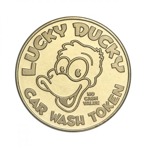 Lucky Ducky Carwash custom token